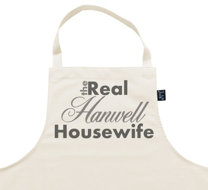 Personalised Aprons by Jola. The Real Housewife.