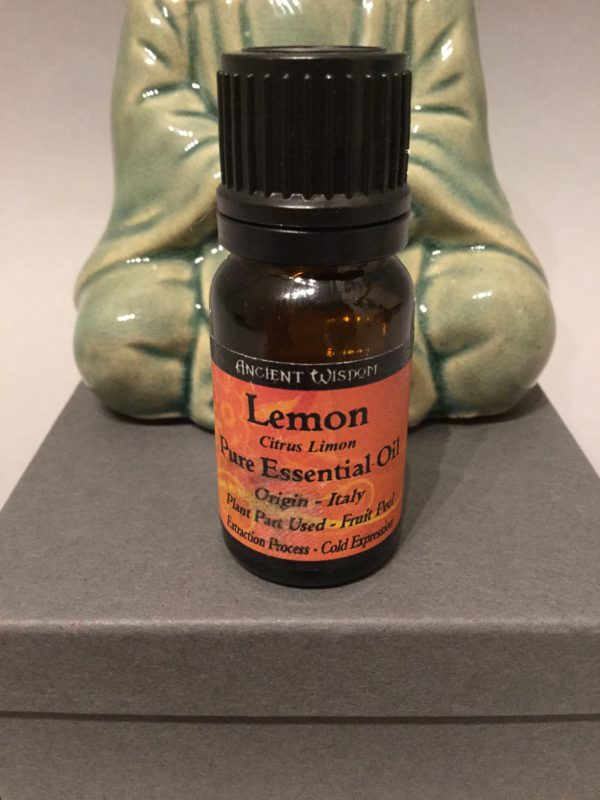 Bottle of Essential Oil: Original Lemon Scent