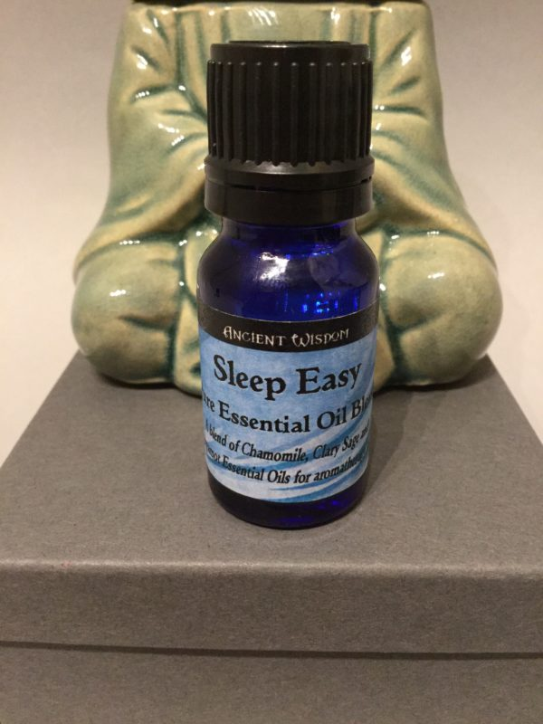 Bottle of Essential Oil: Sleep Easy Blend Scent