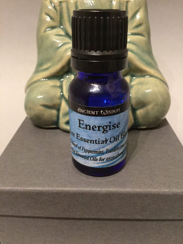 Bottle of Essential Oil: Energise Blend Scent