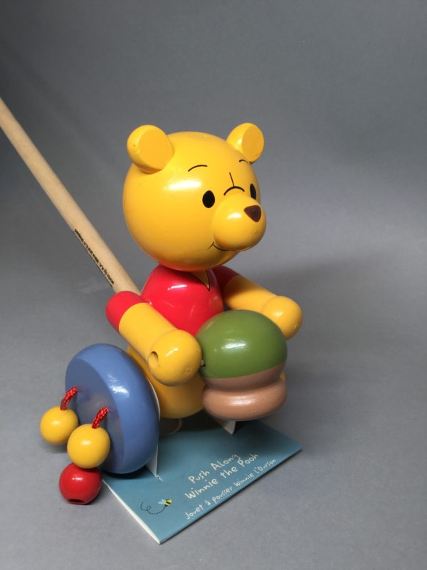 Children's Products: Orange Tree: Winnie The Pooh Push Along
