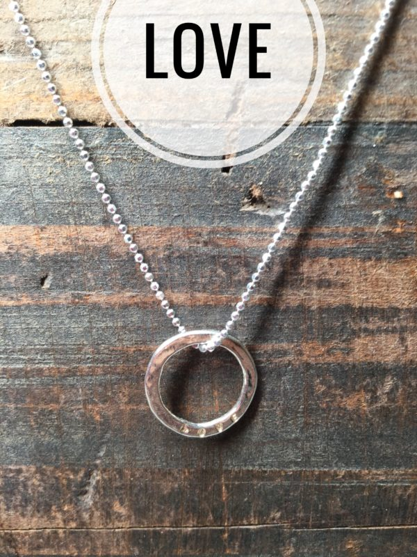 Sterling Silver Necklace Charms, Marlene Hounam: Love
