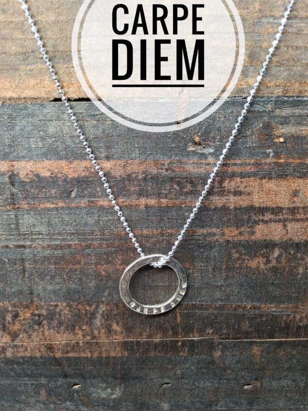 Sterling Silver Necklace Charms, Marlene Hounam: Carpe Diem