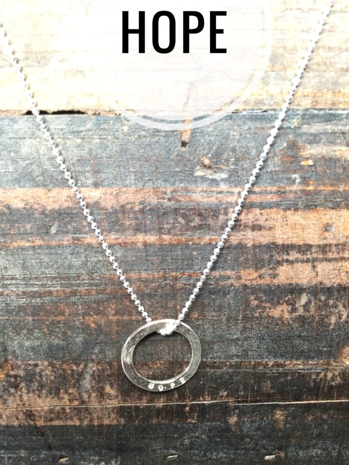 Sterling Silver Necklace Charms, Marlene Hounam: Hope