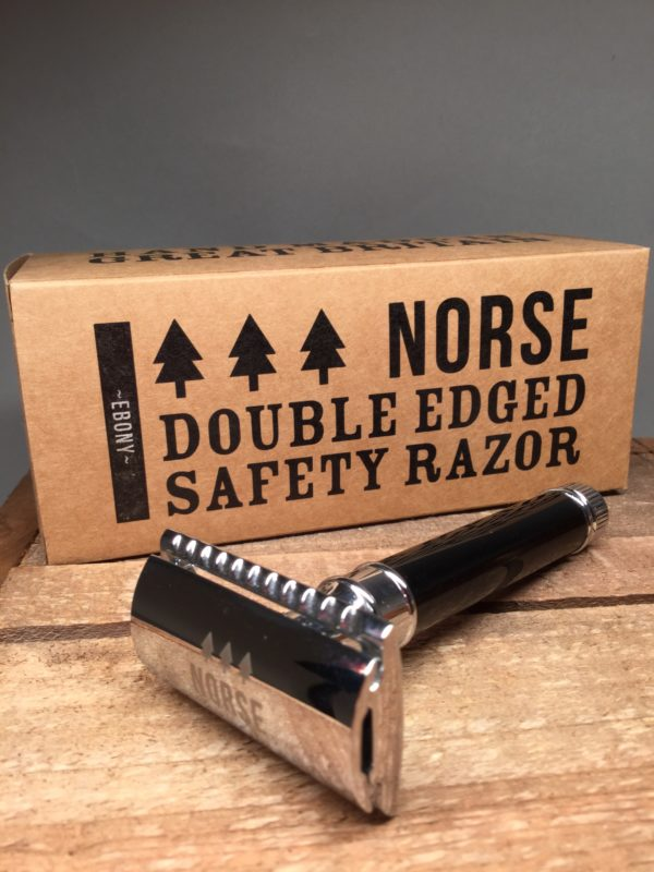 Men's Gifts: Norse. Double Edged Safety Razor and Gift Box.