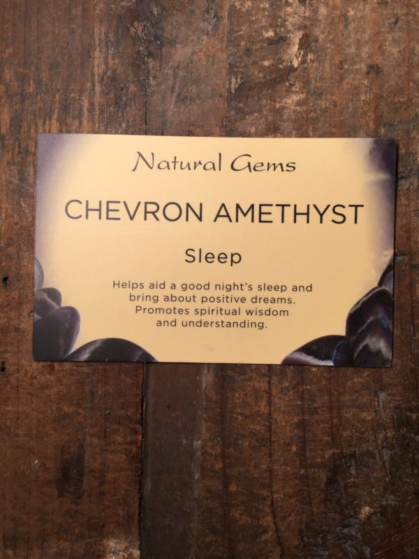 Crystal, healing, stones, spiritual, chevron amethyst, sleep