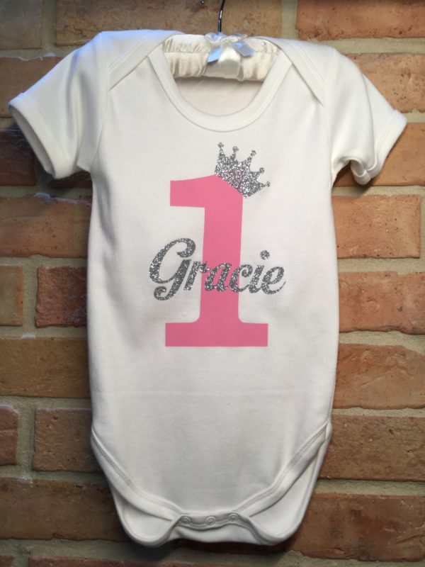 Personalised, childrens, t-shirt, onsie, baby grow, candy bows, fashion, name