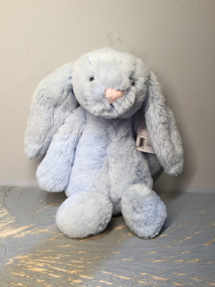 Jellycat, soft toys, baby, children, soft, birthday, christmas, new born, blue, bunny, rattle