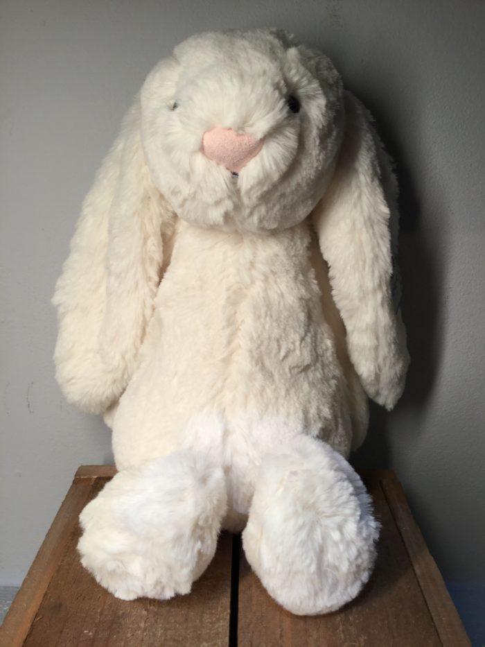 Jellycat, soft toys, baby, children, soft, birthday, christmas, new born, cream, bunny