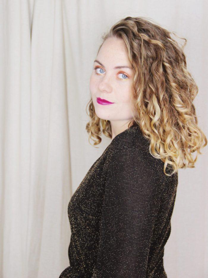 Lurex_Glitter_Wrap_Dress_Gold