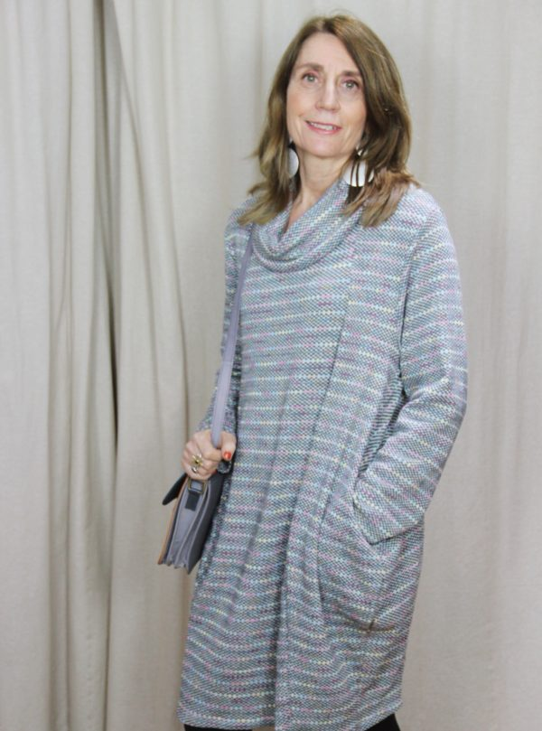 spotted, jumper, dress, fashion, style, patterned,