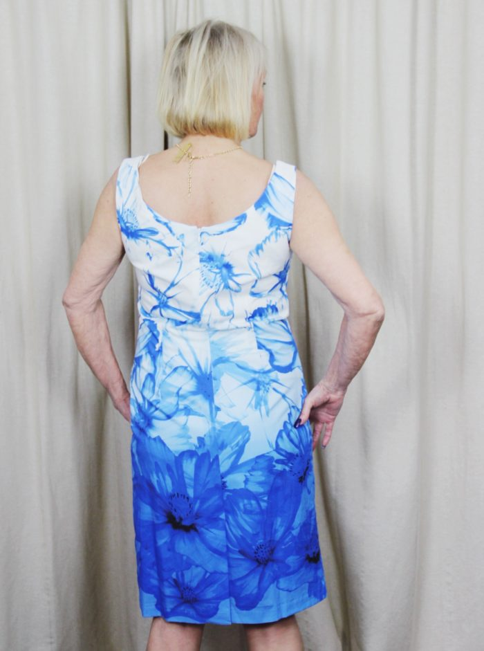 Pomodoro, printed, floral, ombre, dress, fashion, style, spring, summer, wedding