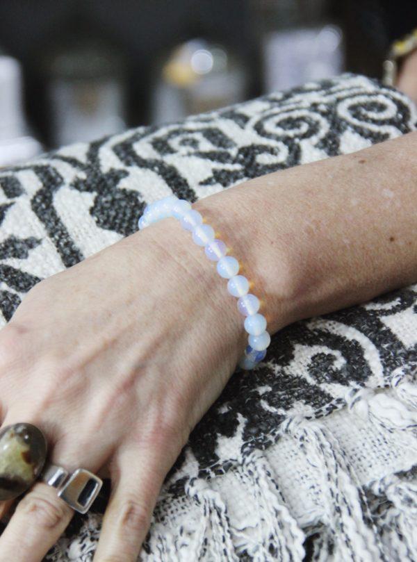 power, bracelets, healing, crystals, opalite, wisdom, understanding
