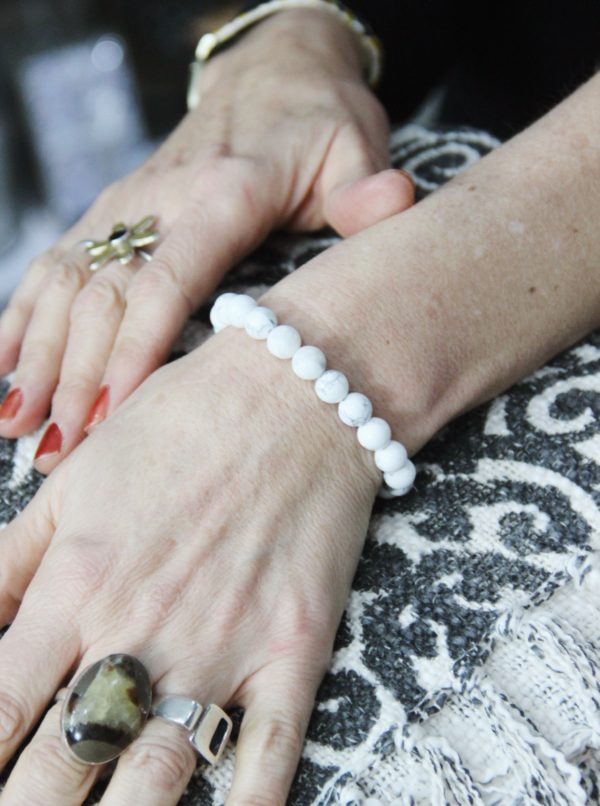 power, bracelets, healing, crystals, white jasper, peace, friendship