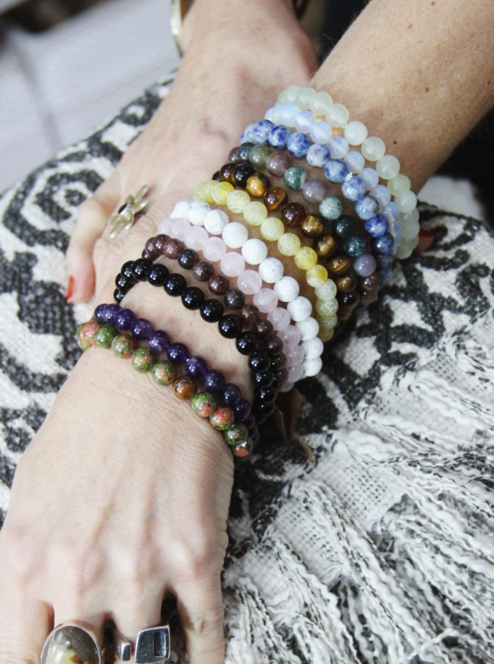 power, bracelets, healing, crystals,