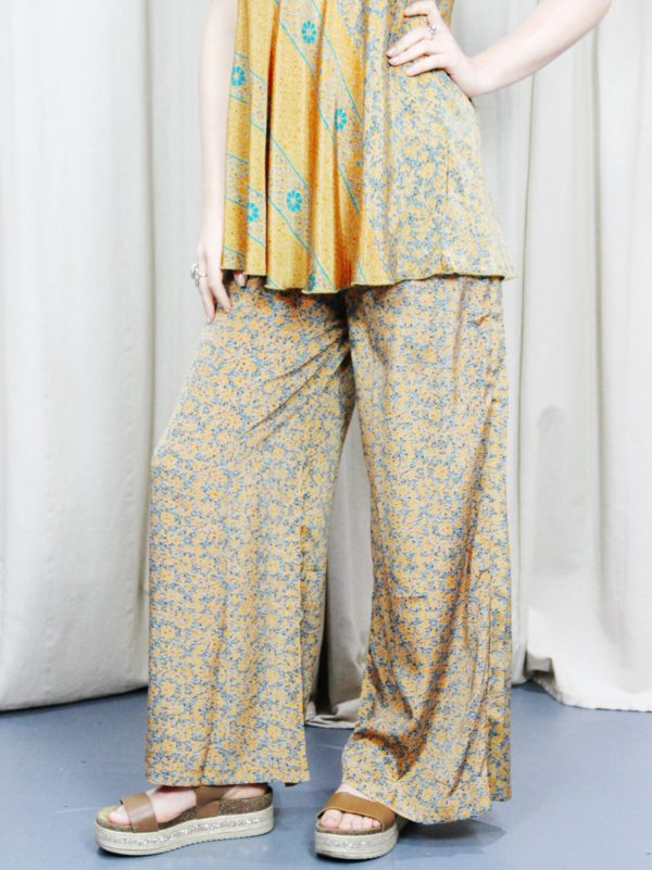 Sari_Print_Cami_Top_matching_Print_Trousers