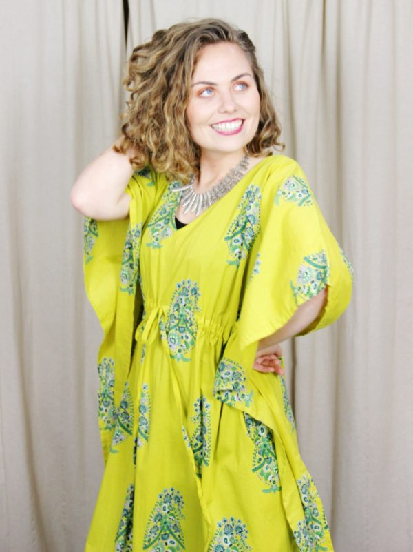 Bright_Green_Kaftan_Print
