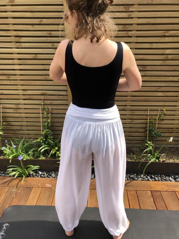 Fez-Trousers-White