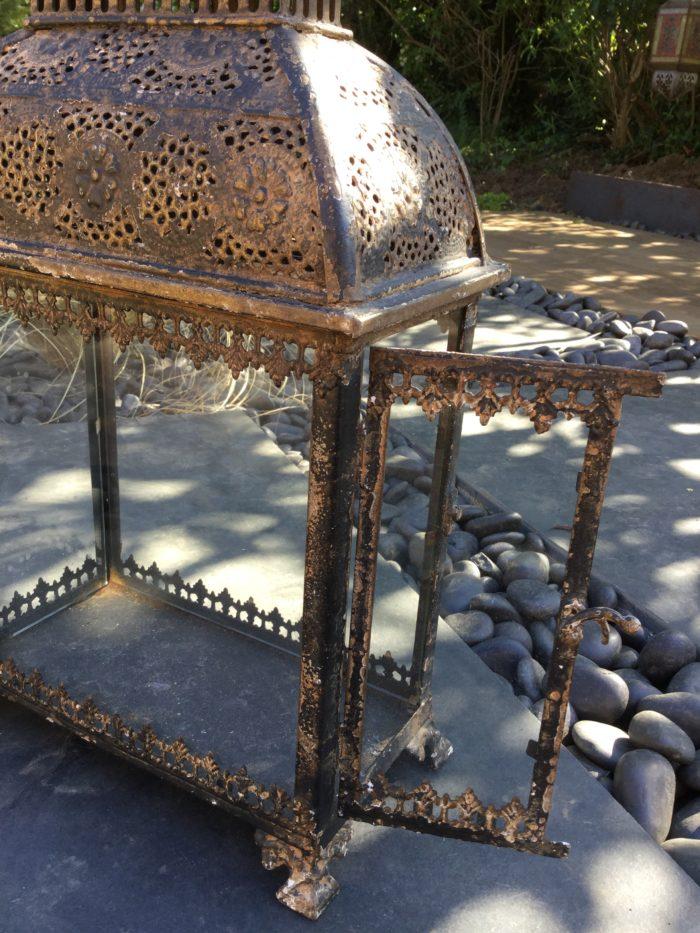 Cambodia-Lantern-Antique-Black-Bronzed