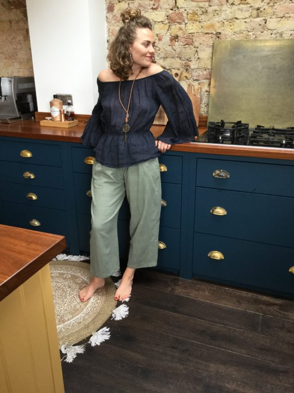 Gemma-Trousers-Khaki-Lulu-Top-Navy
