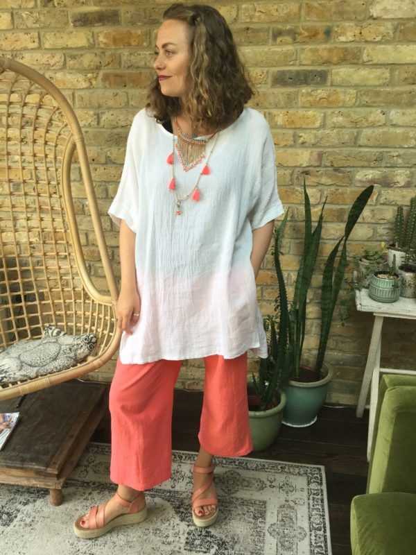 Jennifer-White-Top-Gemma-Trousers-Coral