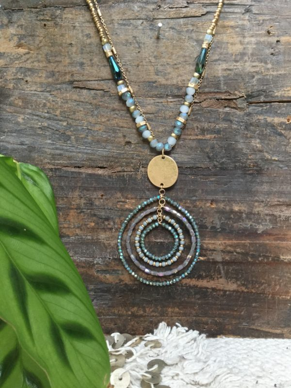 Leonie-Layered-Circular-Necklace-Blue-Grey-Gold-Beads