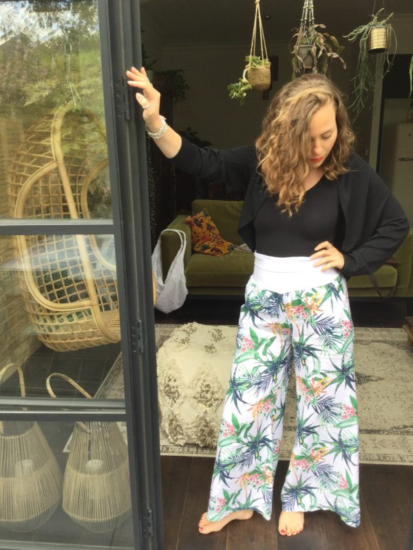 Mayanmar-Trousers-Comfy-Flared-Waist-Band-White