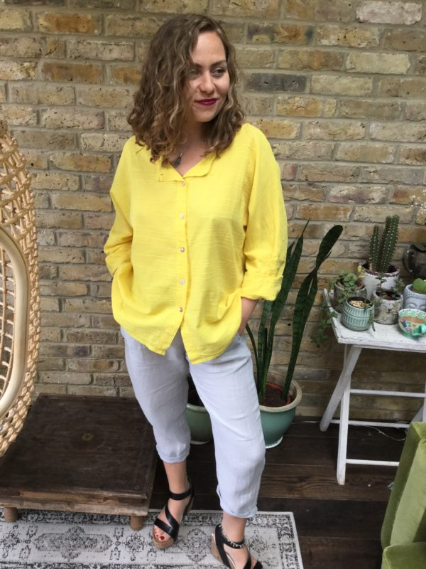 Onda-Shirt-Yellow-Grey-Eden-Trousers-Plain