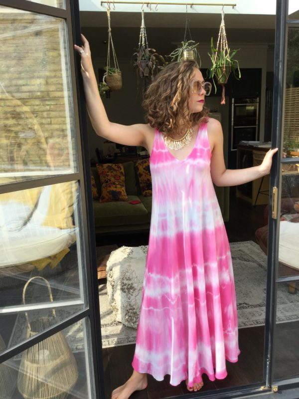 Bilbao-Tie-Dye-Dress-Pink-White