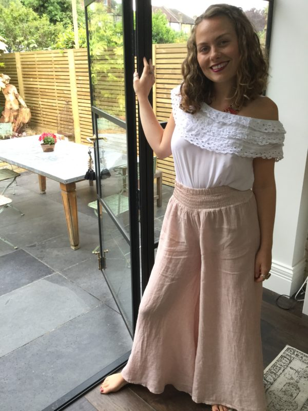 Annie-Trousers-Flares-Pale-Pink-Thanyia-Lace-Top