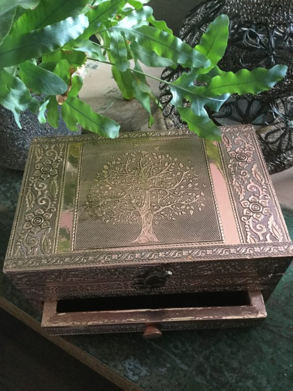 Tree-of-life-jewellery-box-copper-with-draw