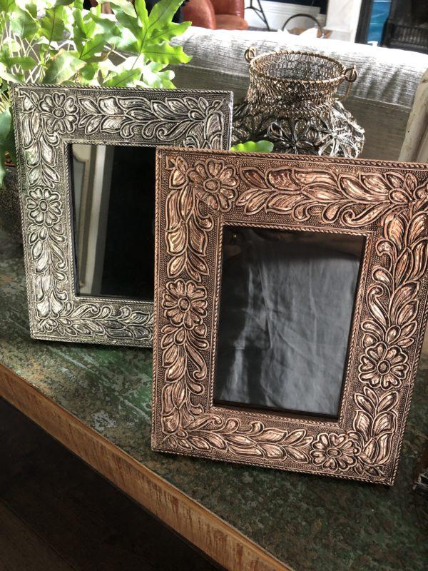 Morrocan-Metal-Frame-Copper&Silver