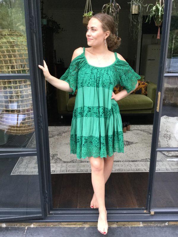 Davina-Dress-Green