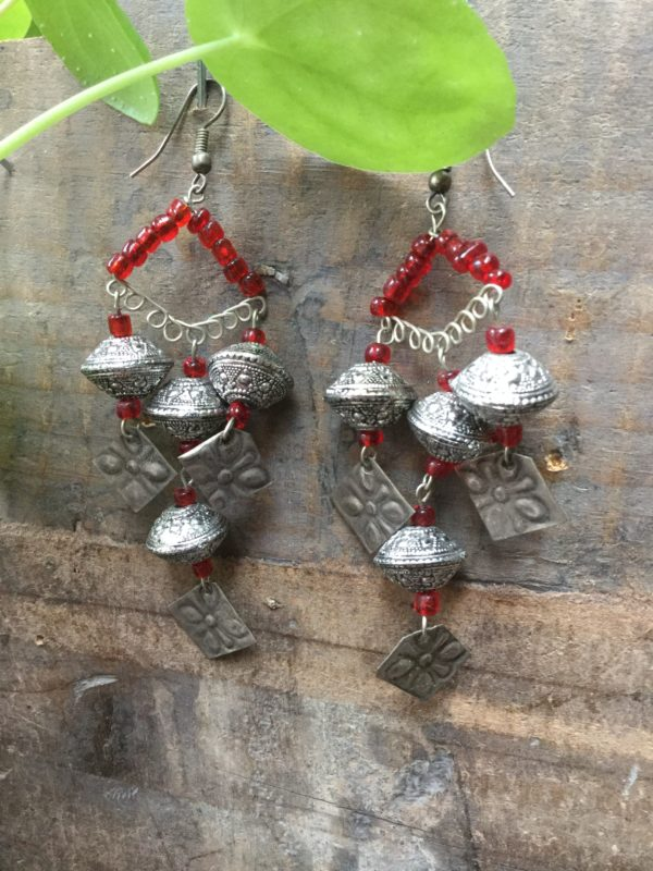 Fez-Earrings-Moroccan-Triangle-Design