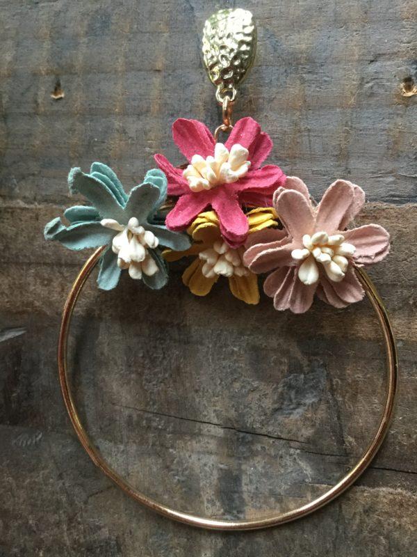 PoppyBling-Earrings-Hoop-Floral