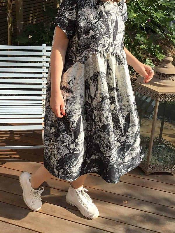 Bamboo-Black-Dress