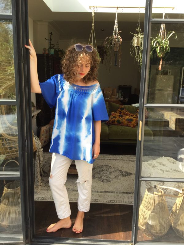 Alhambra-Top-Royal-Blue-Tie-Dye