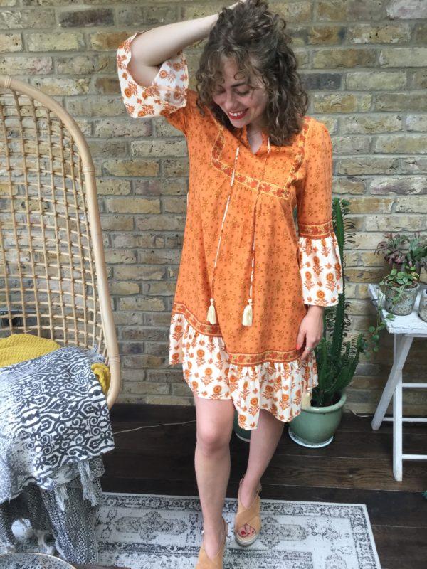 Ruby-Dress-Orange-Pattern