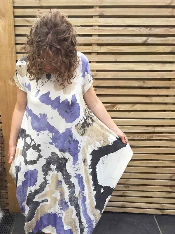 Splash-Dress-Blue-Beige